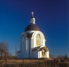 Free Rural Church. Royalty Free Stock Photos - 17204528