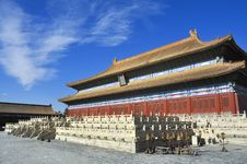 Free Beijing Forbidden City Palace Stock Image - 17205011
