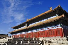 Free Beijing Forbidden City Palace Royalty Free Stock Image - 17205026
