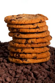 Stack Of Cookies Royalty Free Stock Photography
