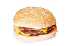 Free Cheeseburger Royalty Free Stock Photos - 17205128