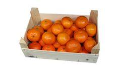 Free Big Orange Box Stock Photo - 17205250