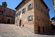 Free Historic Center Of Urbino Stock Photo - 17205350