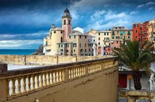 Free Camogli Landscape Royalty Free Stock Images - 17205369
