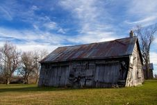 Free Historic Barn At Sunrise Royalty Free Stock Photo - 17205885