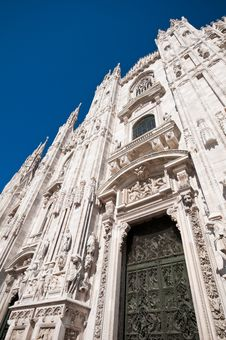 Free Milan Cathedral Architecture Stock Photography - 17206612