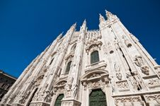Free Milan Cathedral Architecture Stock Photography - 17206632
