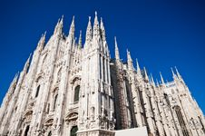 Free Milan Cathedral Architecture Royalty Free Stock Images - 17206679