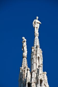 Free Milan Cathedral Architecture Royalty Free Stock Image - 17206766