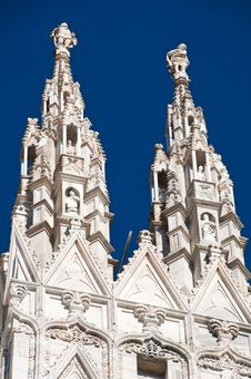 Free Milan Cathedral Architecture Royalty Free Stock Photos - 17206848