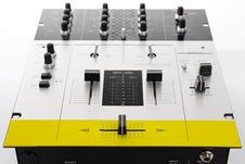 Free Professional Audio Mixing Controller For DJ Stock Image - 17207951