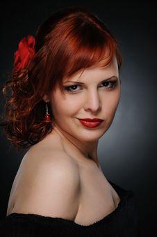 Free Beautiful Redhead Woman Stock Photography - 17208622