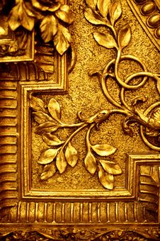 Free Abstract Golden Texture Royalty Free Stock Image - 17209036