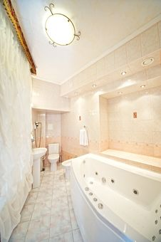 Free Hotel Bathroom Interior Stock Image - 17209491