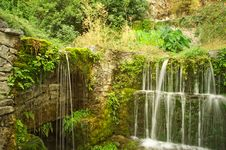Free Waterfall In The Forest Royalty Free Stock Photography - 17209817