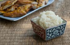 Free A Bowl Of Sticky Rice Royalty Free Stock Photo - 17209895