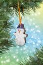 Free Christmas-tree Decorations Royalty Free Stock Photo - 17213195