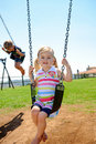 Free Child On Swing Stock Image - 17217821