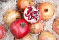 Free Red Pomegranates In Box Royalty Free Stock Photo - 17218545
