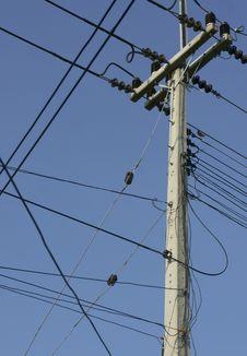 Free Power Line Royalty Free Stock Photo - 17210245