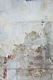 Free Weathered Wall With Bloody Stains Stock Image - 17210521