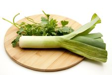 Free Leek And Parsley Stock Photos - 17210733