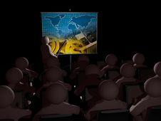Free Presentation About Communication Royalty Free Stock Image - 17210836