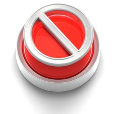 Free Button Icon: Restricted Royalty Free Stock Images - 17212139