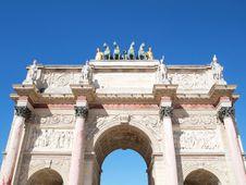 Free Arc De Triomphe Du Carrousel Stock Image - 17212451