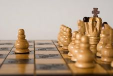 Free He Is Playing Chess Royalty Free Stock Image - 17212476