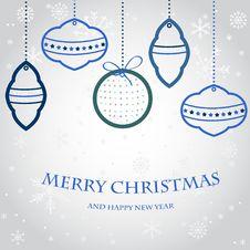 Free Christmas Greeting Card Royalty Free Stock Photo - 17212855