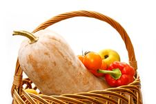 Free Pumpkin Cornucopia Stock Photography - 17212962