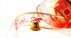 Christmas Bell Toy Royalty Free Stock Photos