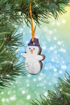 Free Christmas-tree Decorations Royalty Free Stock Photo - 17213195