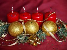 Free Advent Decoration Royalty Free Stock Images - 17213239