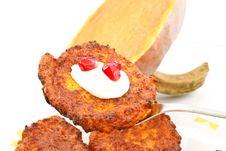 Free Pumpkin Pancakes Royalty Free Stock Image - 17213356