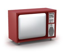 Free Retro TV Set. My Own Design. Royalty Free Stock Image - 17213826