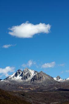 Free Snow Mountain Royalty Free Stock Image - 17214926