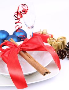 Free Christmas Or New Year S Table Royalty Free Stock Images - 17215469