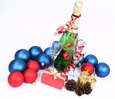 Free Christmas And New Year S Theme Stock Images - 17215484