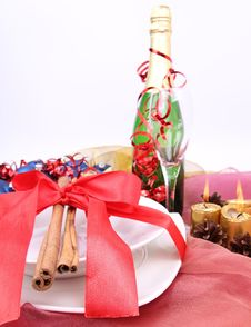 Free New Year S Or Christmas Setting Royalty Free Stock Image - 17215606
