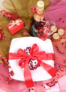 Free New Year S Or Valentine S Setting Stock Images - 17215634