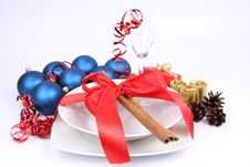 Christmas Or New Year S Setting Stock Photography