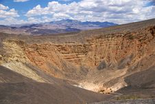Free Death Valley Ubehebe Crater Royalty Free Stock Image - 17216716