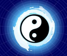 Free The Power Of Yin & Yang Stock Image - 17216751