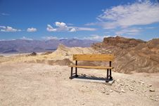 Free Death Valley Zabriskie Point Royalty Free Stock Photography - 17216757