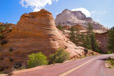 Free Zion NP Royalty Free Stock Photography - 17216827