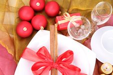 Christmas Or New Year S Setting Royalty Free Stock Images