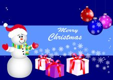 Free Christmas Background. Vector. Royalty Free Stock Images - 17216939