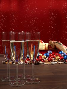 Free Sylvester And Christmas Still-life Stock Photo - 17216980